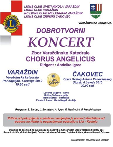 Uskrsni koncert 2010.