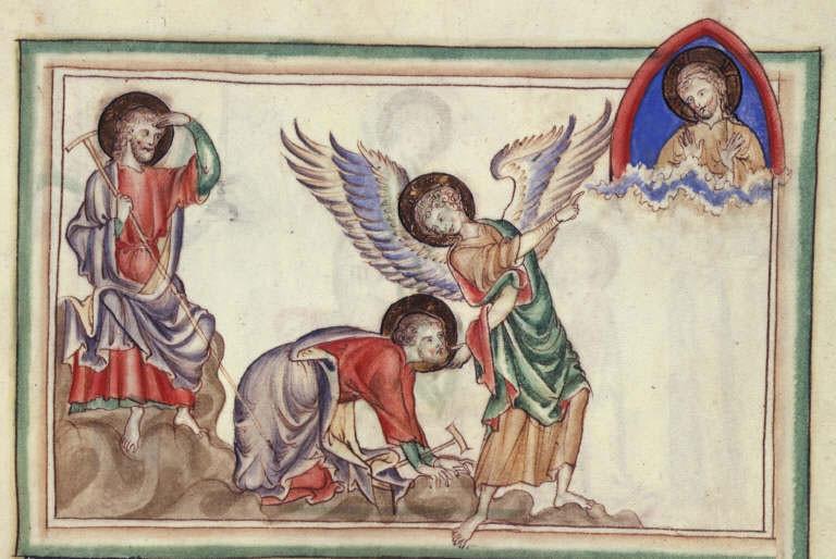 Nepoznati autor: Westminsterska Apokalipsa, oko 1260., British Library.