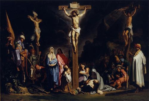 Pieter Lastman - The crucifixion, 1616 - Museum het Rembrandthuis